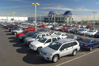 stock dealership photo