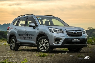 subaru forester first drive review