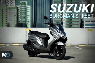 Suzuki Burgman Street Review - Beyond the Ride