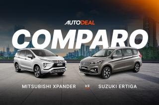 Suzuki Ertiga vs Mitsubishi Xpander Comparo - Behind a Desk