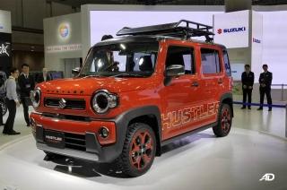 Suzuki hustler concept Kei car