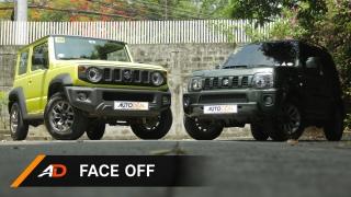 Suzuki Jimny 2019 vs 2017 Face Off
