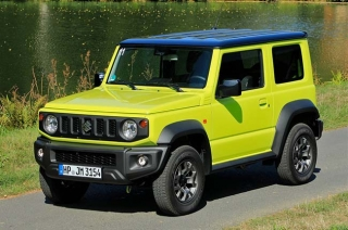Suzuki Jimny green 3-door version