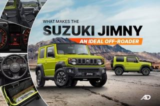 Suzuki Jimny ideal off-roader
