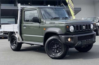 Suzuki Jimny pickuptruck variant new zealand