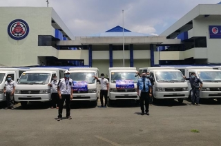 Suzuki lends super carry vehicles to DOTr