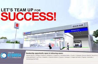 Suzuki Philippines new dealership program