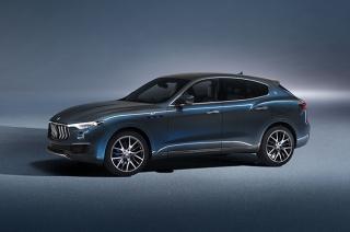 The Maserati Levante Hybrid makes its world premiere