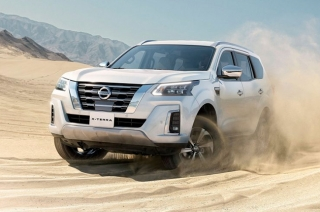 The new 2021 Nissan Terra / X-Terra finally breaks cover