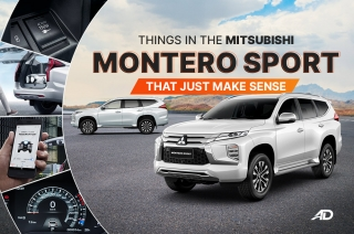 Things in the Mitsubishi Montero Sport that just make sense