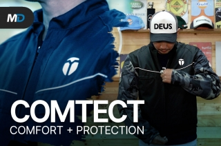This is literally the coolest motorcycle jacket | Comtect Sportline Jacket