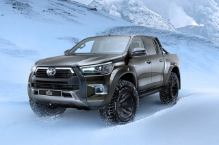 This is the most badass Hilux we've seen all year — courtesy of Arctic Trucks