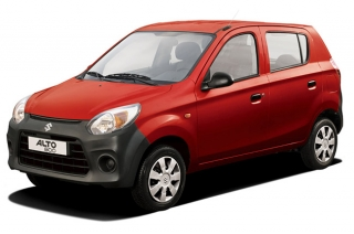 Time to say goodbye to the Suzuki Alto