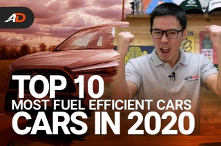 Top 10 Most Fuel Efficient Cars in 2020 - Behind a Desk