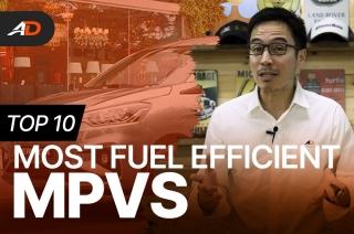 Top 10 Most Fuel Efficient MPVs - Behind a Desk