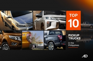Top 10 pickup trucks in the Philippines