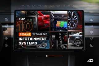 Top 10 sedans with great infotainment systems