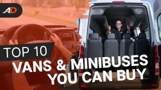 Top 10 Vans & Minibuses in the Philippines