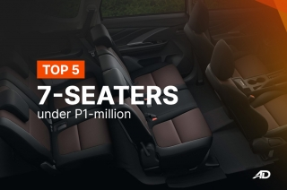 Top 5 7-seaters under P1,000,000