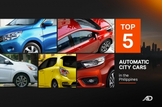 Top 5 automatic City Cars in the Philippines