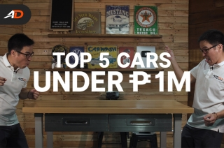 Top 5 Cars in the Philippines Under P1,000,000 – Behind a Desk