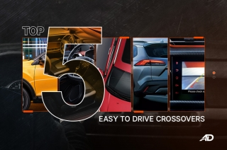 Top 5 Easy to Drive Crossovers