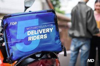 Top 5 motorcycles for delivery riders