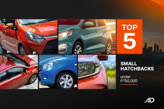 Top 5 Small Hatchbacks in the Philippines under P750,000
