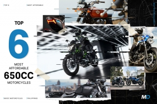 Top 6 most affordable 650cc motorcycles in the Philippines