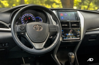 Toyota 1.5 G Prime Road Test Review Steering Wheel Interior Philippines