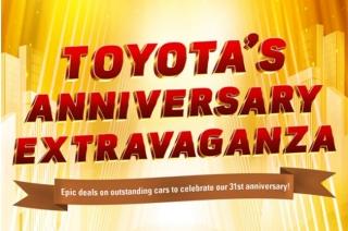 Toyota Anniversary Extravaganza