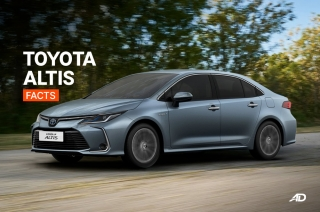 Toyota Corolla Altis Facts