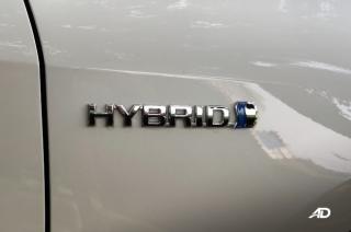 Toyota Corolla Altis Hybrid Badge
