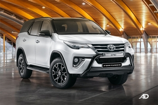 Toyota Fortuner Epic black