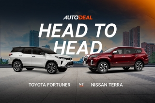 Toyota Fortuner vs. Nissan Terra Head to Head