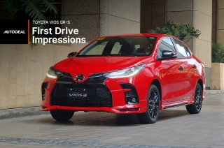 Toyota GR-S Vios First Drive