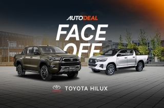 Toyota Hilux Face-off