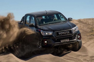 Toyota Hilux GR press photo