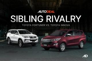 Toyota Innova vs. Fortuner – Sibling Rivalry