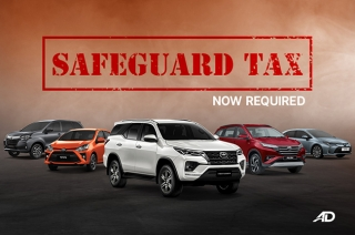 Toyota Philippines to implement safeguard duties on its vehicle lineup