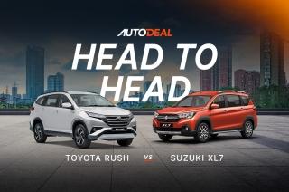 Toyota rush vs suzuki XL7