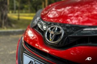 Toyota vios red badge shot