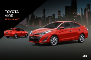 Toyota Vios: Which Variant?