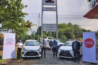 Toyota x coca-cola philippines