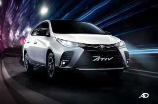 Toyota yaris Ativ thailand