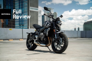 Triumph Trident 660 Review