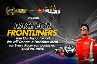 Tuason sim racing event