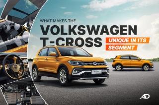 Unique features about the Volkswagen T-cross