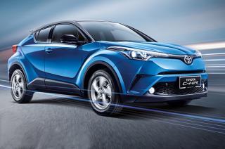 Updated Toyota C-HR