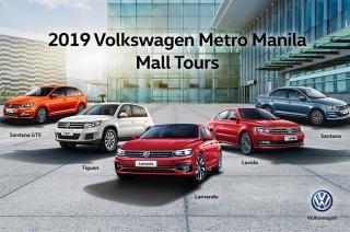 Volkswagen Philippines 2019 Metro Manila mall tour